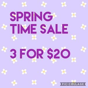 Other - 3 for $20
